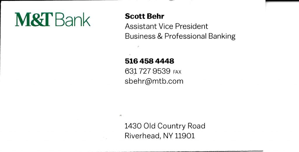 Business Cards | Eastern Long Island Executives Network